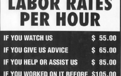 Calculating your ideal labour rate